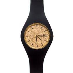 Zegarek Indigo Black & Gold