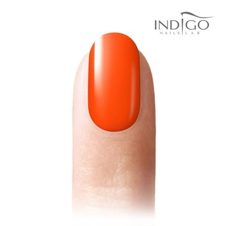 Neon Orange Gel Polish Mini