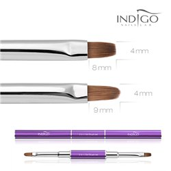 Indigo Diamond Gel Brush - Natural No.4