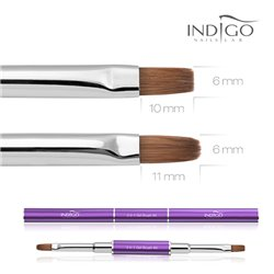 Indigo 2 w 1 Gel Brush No.6