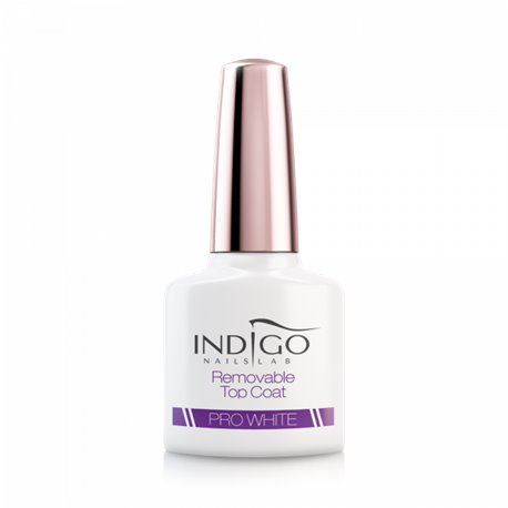 Pro White Removable Top Coat, 7 ml