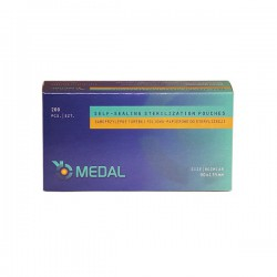 Torebki do sterylizacji Medal, 90x135mm, 200 szt.