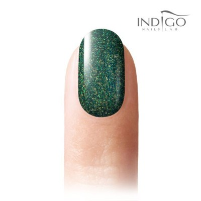 Emerald Glitter Gel Polish Mini
