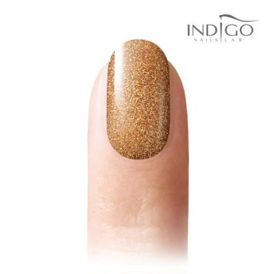 Rich Gold Glitter Gel Polish Mini