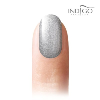 Silver Princess Glitter Gel Polish Mini