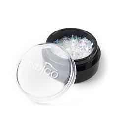 Snowflakes 4 - Green Sparkle - Folia Cięta