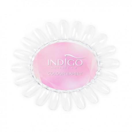 Wzornik Owal przezroczysty Indigo Colour Expert (White)