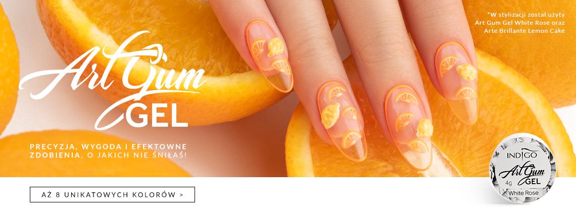 Art Gum - nowe możliwości zdobień paznokci
