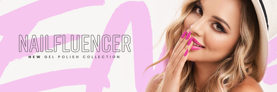 Nailfluencer - poznaj najbardziej wpływowe kolory lakierów hybrydowych