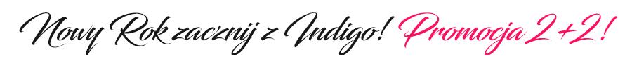 Nowy Rok zacznij z Indigo! promocja 2+2!