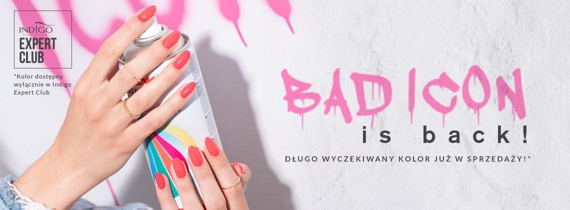 Bad Icon - wyczekiwany, sensacyjny lakier hybrydowy dostępny w Indigo Expert Clubie