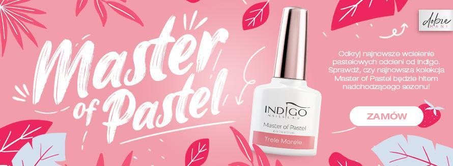 Nowość - lakiery hybrydowe Master of Pastel od Indigo Nails