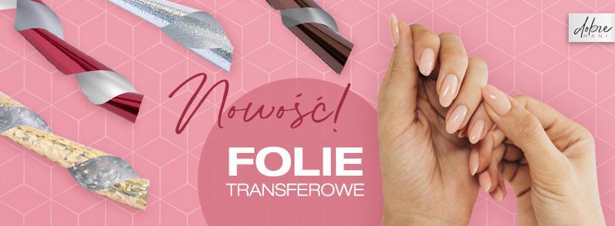 Nowość - folie transferowe na paznokcie