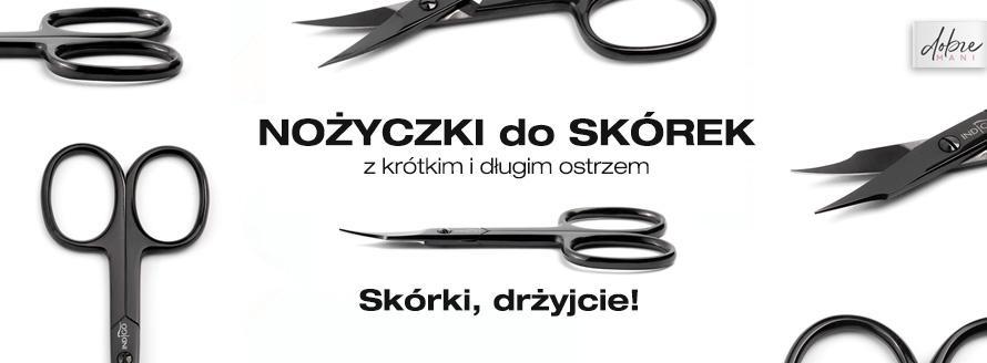 Nożyczki do skórek od Indigo Nails - manicure bezcążkowy