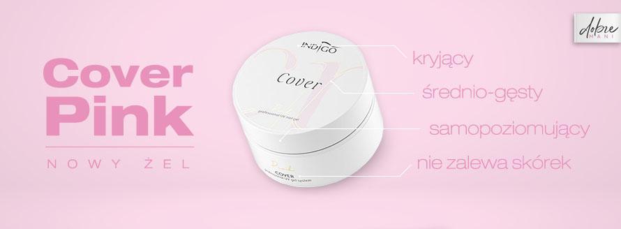 Cover Pink - samopoziomujący się cover w pięknym różowym odcieniu
