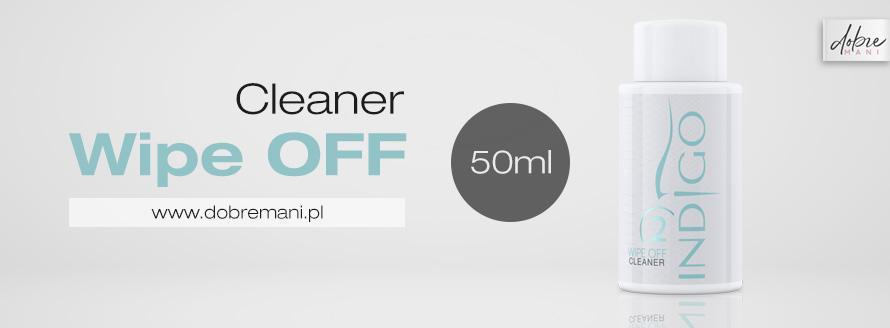 Cleaner Wipe Off w mini wersji 50ml - weź na próbę lub w podróż