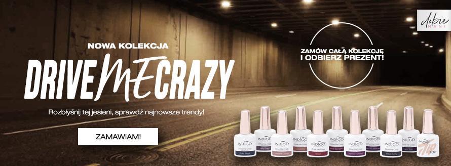 Najnowsza kolekcja lakierów hybrydowych Drive Me Crazy od Indigo Nails