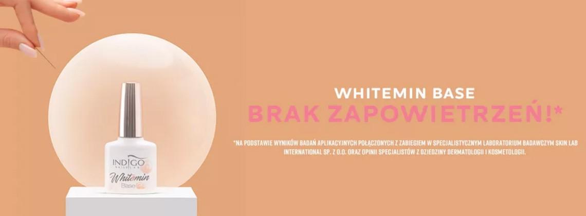 Poznaj nową bazę hybrydową w białym kolorze - Whitemin Base od Indigo