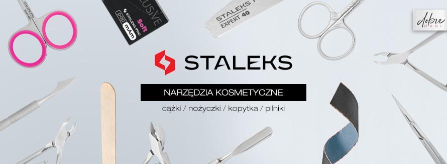 Narzędzia kosmetyczne STALEKS cążki nożyczki kopytka pilniki